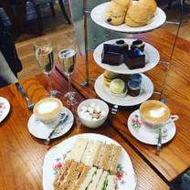 photo of afternoon tea @ the yarrow hotel restaurant