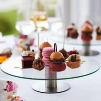 photo of afternoon tea at leonardslee house restaurant