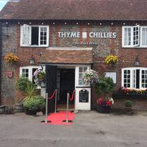 photo of thyme and chillies restaurant