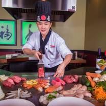 photo of kobe japanese steakhouse - bruce b downs restaurant