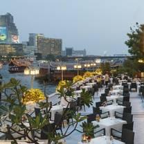 photo of terrace rim naam - mandarin oriental bangkok restaurant