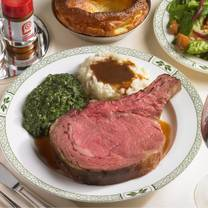 photo of lawry's the prime rib singapore restaurant