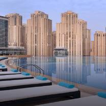 photo of shades  - address dubai marina restaurant