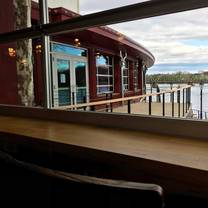 photo of the deck at the bucks county playhouse restaurant
