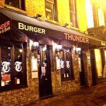 photo of thunder burger & bar restaurant