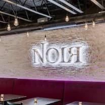 photo of noir restaurant & lounge restaurant