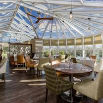 photo of the conservatory restaurant at the melbreak hotel restaurant