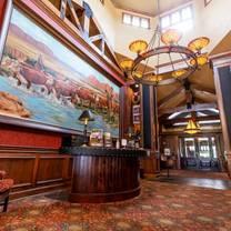 photo of trophy room at old kinderhook restaurant