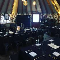 photo of savoury kitchen at the colony yurt restaurant