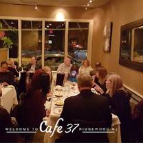 photo of cafe 37 restaurant