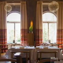 photo of the restaurant at cowley manor restaurant
