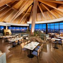 photo of top of the rock restaurant at the marriott buttes resort restaurant