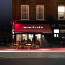 photo of manifesto london restaurant