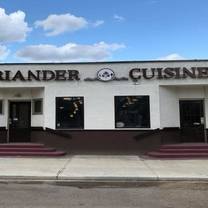 photo of coriander cuisine restaurant