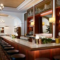 photo of the bar at montage beverly hills restaurant
