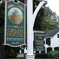 photo of the grain house restaurant at the olde mill inn restaurant