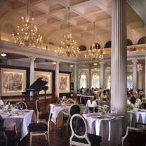 photo of the dining room at the omni homestead restaurant