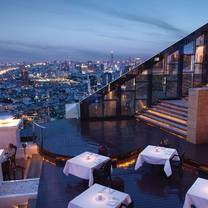 photo of breeze – tower club at lebua state tower restaurant