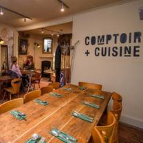 photo of afternoon tea at comptoir+cuisine restaurant