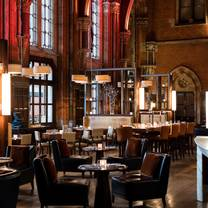 photo of the booking office bar and restaurant - st. pancras renaissance hotel restaurant