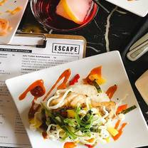 photo of escape restaurant and bar restaurant