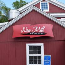 photo of new mill restaurant restaurant