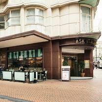 photo of ask italian birmingham city centre restaurant