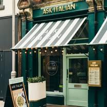 photo of ask italian cardiff restaurant