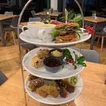 photo of afternoon tea at whins green kitchen restaurant