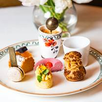 photo of afternoon tea at flemings mayfair restaurant