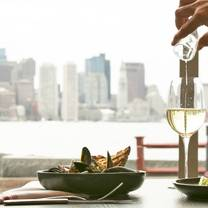 photo of harborside grill at hyatt boston harbor restaurant