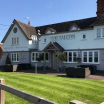 photo of the falcon at hatton restaurant
