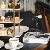 photo of afternoon tea at the library curated by assouline restaurant