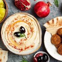 photo of justina falafel restaurant