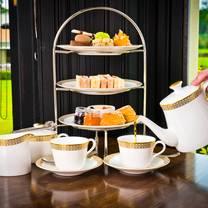 photo of afternoon tea at thornton hall hotel & spa restaurant