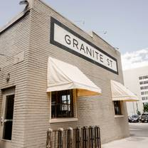 photo of old granite street eatery restaurant