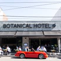 photo of botanical hotel restaurant