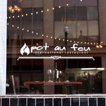 photo of the pot au feu restaurant