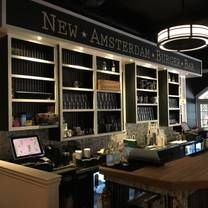 photo of new amsterdam burger and bar restaurant