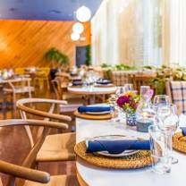 photo of lido bayside grill at the standard spa, miami beach restaurant