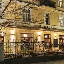 foto von das neuhausen restaurant