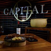 photo of capital g stk house restaurant