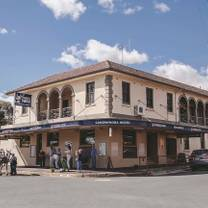 photo of the canowindra hotel restaurant