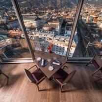 foto van weitsicht restaurant restaurant