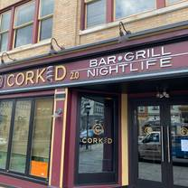 photo of corked restaurant