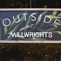 photo of millwright's outdoor restaurant