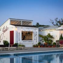photo of jack's shack & pool at sound view restaurant