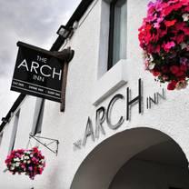 photo of the arch inn restaurant