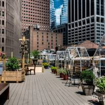 photo of ampia rooftop & gnoccheria - wall st. restaurant