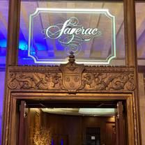 photo of sazerac fountain lounge restaurant
